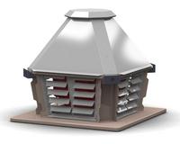 Вентиляторы дымоудаления крышные ВКР ДУ