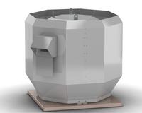 Вентилятор крышный дымоудаления выброс в верх ВКРВ ДУ