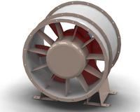 Вентилятор осевой ВО 13-284-12к